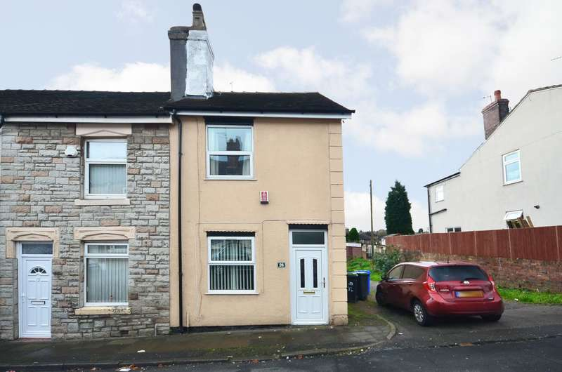 2 Bedrooms Terraced House for sale in Bright Street, Meir, Stoke-on-Trent, ST3 6AG