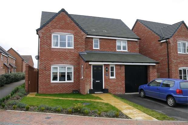4 Bedrooms Detached House for sale in Monk Close, Market Harborough, Leicestershire
