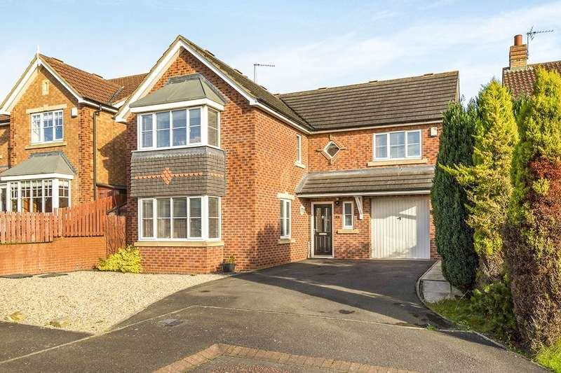 4 Bedrooms Detached House for sale in Manor Road, Willington, Crook, DL15