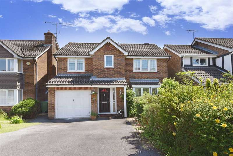 4 Bedrooms Detached House for sale in BURMESE CLOSE, WHITELEY