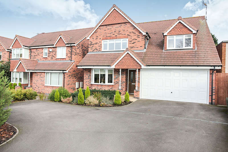 4 Bedrooms Detached House for sale in Weddington Road, Nuneaton, CV10