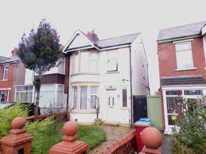 3 Bedrooms Semi Detached House for sale in Poulton Road, Blackpool, Lancashire, FY3