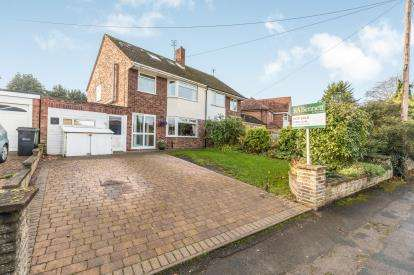 4 Bedrooms Semi Detached House for sale in Martley Road, St Johns, Worcester, Worcestershire