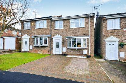 3 Bedrooms Semi Detached House for sale in Rannoch Drive, Mansfield, Nottinghamshire