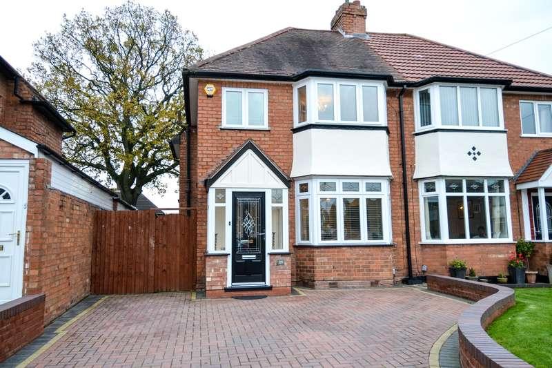 3 Bedrooms Semi Detached House for sale in Hazel Croft, Northfield, Birmingham, B31