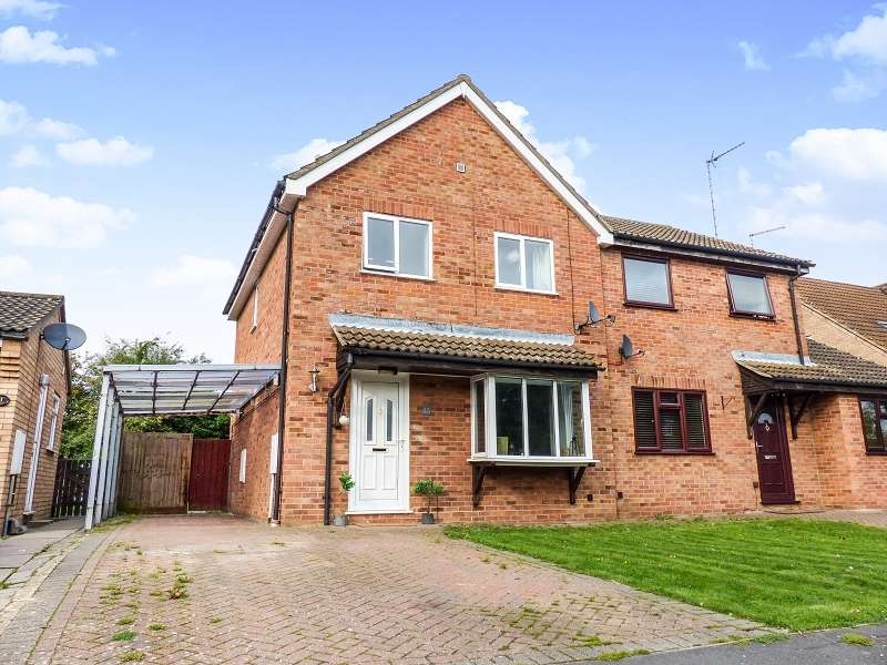 3 Bedrooms Semi Detached House for sale in Stanch Hill Road, Sawtry, Huntingdon, Cambridgeshire. PE28 5XG