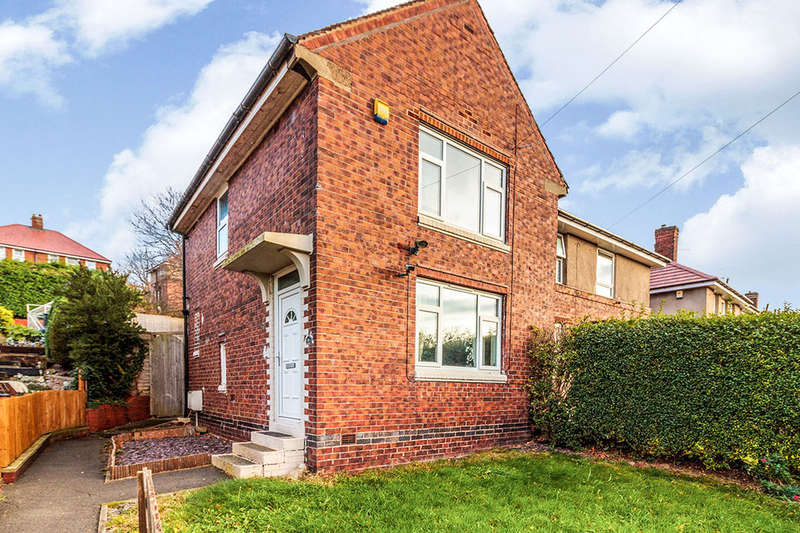 2 Bedrooms Semi Detached House for sale in Pollard Avenue, Sheffield, S5