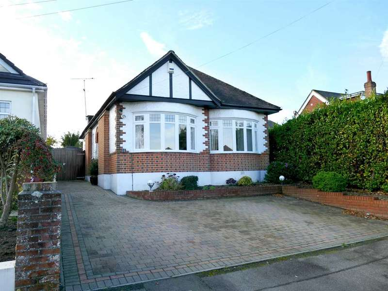 3 Bedrooms Bungalow for sale in DETACHED CHALET BUNGALOW WITH SOUTH FACING REAR GARDEN - NORTHBOURNE