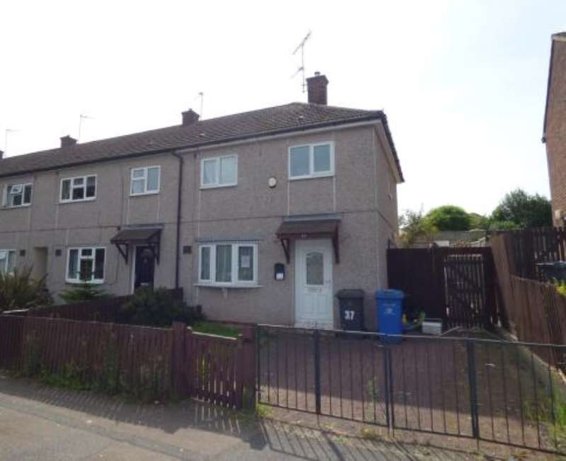 2 Bedrooms End Of Terrace House for sale in Walthamstow Drive, Derby, Derbyshire, DE22 4BS