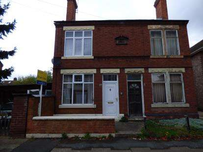 2 Bedrooms Semi Detached House for sale in Charnwood Avenue, Long Eaton, Nottingham