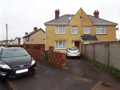 4 Bedrooms Semi Detached House for sale in Whitmuir Road, Cardiff, Caerdydd, Wales