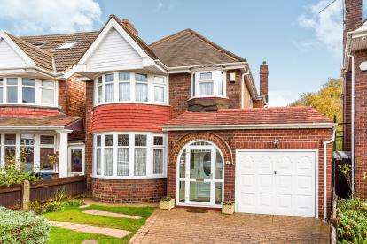 3 Bedrooms Detached House for sale in Beachburn Way, Handsworth Wood, Birmingham, West Midlands