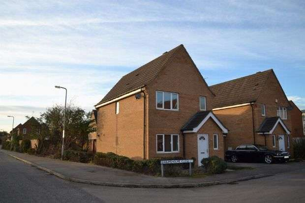 3 Bedrooms Detached House for sale in Baulmsholme Close, Southbridge, Northampton NN4 8BJ