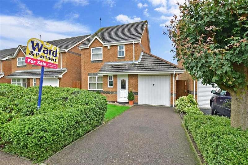 3 Bedrooms Detached House for sale in Eleanor Drive, Milton Regis, Sittingbourne, Kent