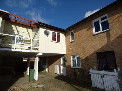 2 Bedrooms Maisonette Flat for sale in Mitcham Place, Bradwell Common, Milton Keynes, Buckinghamshire