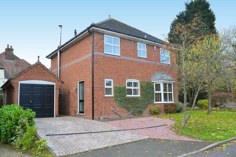 4 Bedrooms Detached House for sale in Victoria Gardens, Lichfield