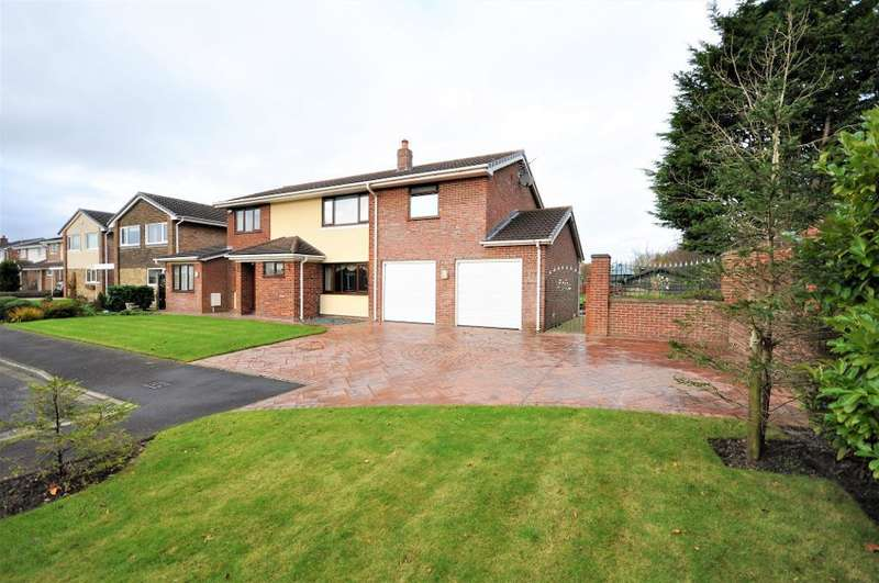 4 Bedrooms Detached House for sale in Clifton Green, Clifton, Preston, Lancashire, PR4 0DB