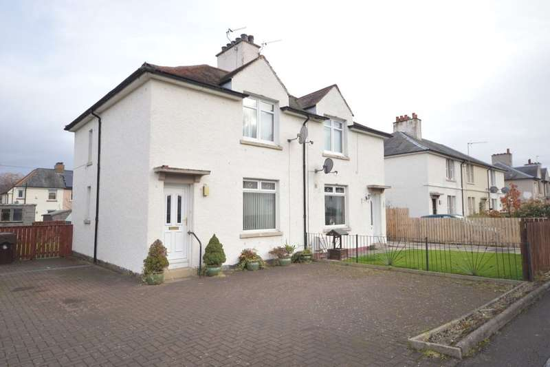 2 Bedrooms Semi Detached House for sale in Woodside Place, Fallin, Stirling, FK7