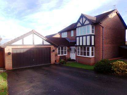 4 Bedrooms Detached House for sale in Birkdale Gardens, Winsford, Cheshire, England