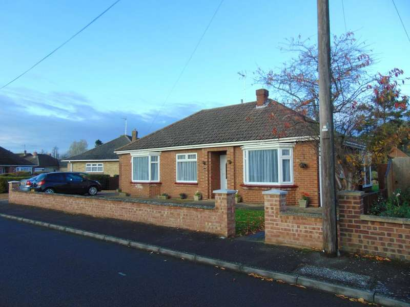 3 Bedrooms Detached Bungalow for sale in The Chase, Wisbech, Cambridgeshire, PE13 1RX
