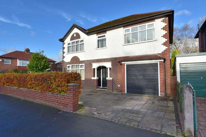 4 Bedrooms Detached House for sale in Fortescue Road, Offerton, Stockport, SK2 5DW