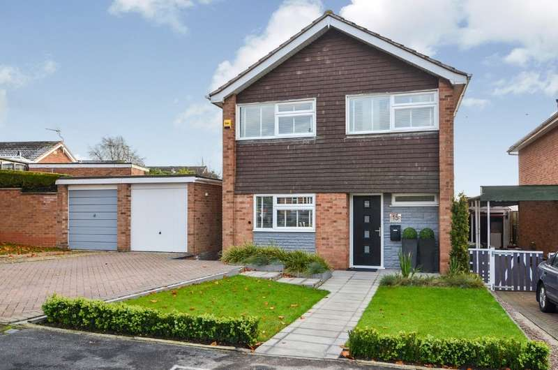 3 Bedrooms Detached House for sale in Lloyd Road, Brownsover, Rugby