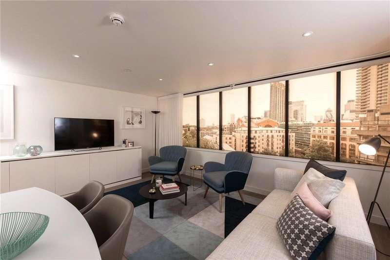 1 Bedroom Flat for sale in Fann St, Barbican, EC2Y