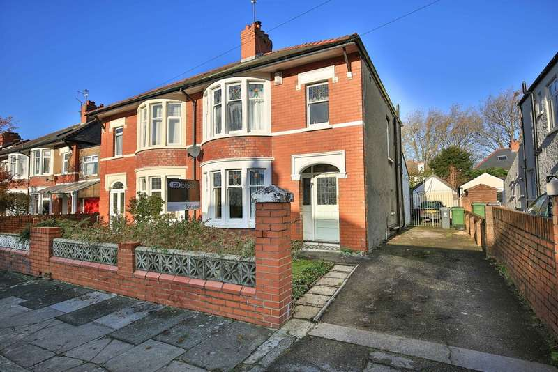 3 Bedrooms Semi Detached House for sale in St Albans Avenue, Heath, Cardiff