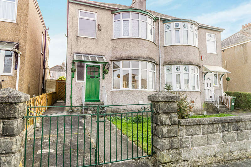 3 Bedrooms Semi Detached House for sale in Merrivale Road, Beacon Park, Plymouth, PL2