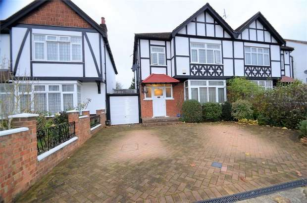 3 Bedrooms Semi Detached House for sale in Sefton Avenue, Mill Hill, NW7