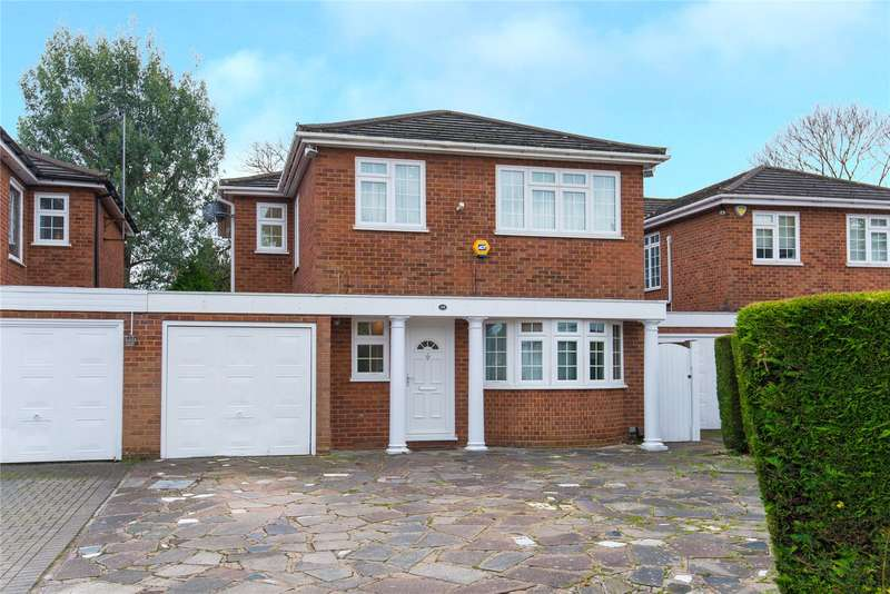 4 Bedrooms Detached House for sale in Jellicoe Gardens, Stanmore, HA7
