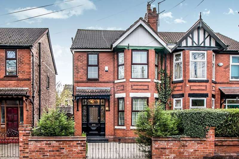 3 Bedrooms Semi Detached House for sale in Old Hall Lane, West Point/ Levenshulme, Manchester, M19