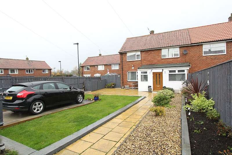 3 Bedrooms Semi Detached House for sale in Naworth Drive, Newcastle upon Tyne, Tyne and Wear, NE5 5PT
