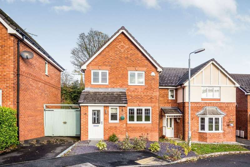 3 Bedrooms Detached House for sale in Alyn Road, Gwersyllt, Wrexham