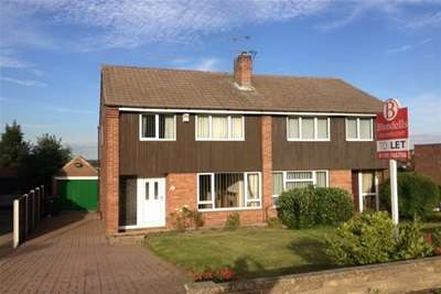 3 Bedrooms Semi Detached House for rent in Hall Road, Moorgate, Rotherham S60