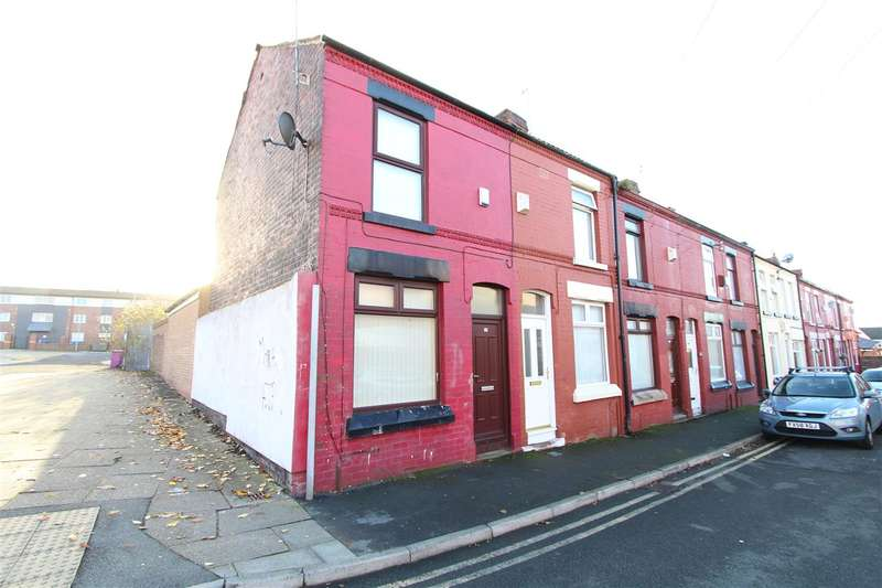 2 Bedrooms End Of Terrace House for sale in Day Street, Old Swan, Liverpool