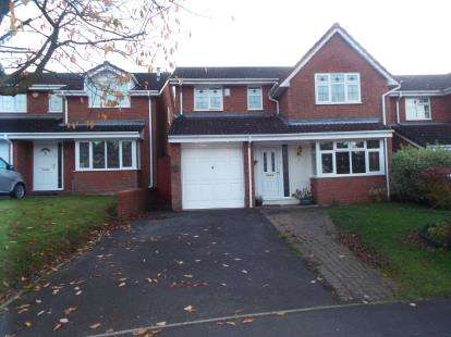 4 Bedrooms House for sale in St. David Close, Hednesford, Cannock, Staffordshire