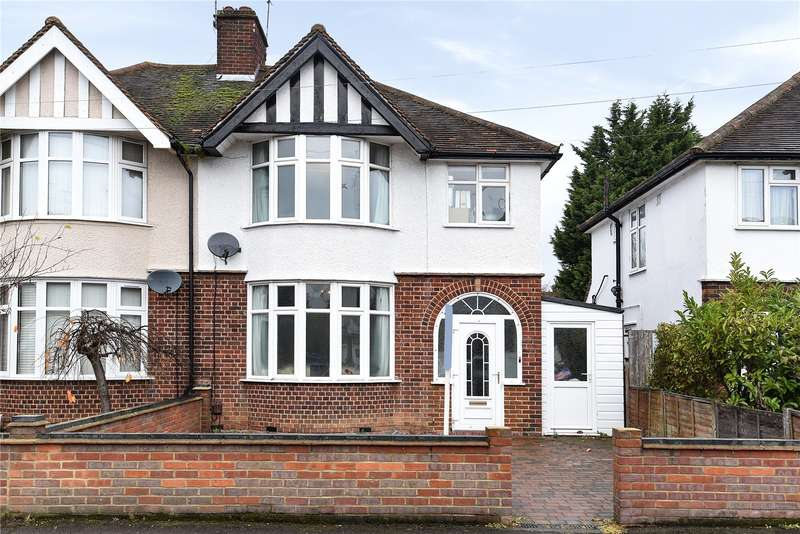 3 Bedrooms Semi Detached House for sale in Watford Road, Croxley Green, Rickmansworth, Hertfordshire, WD3
