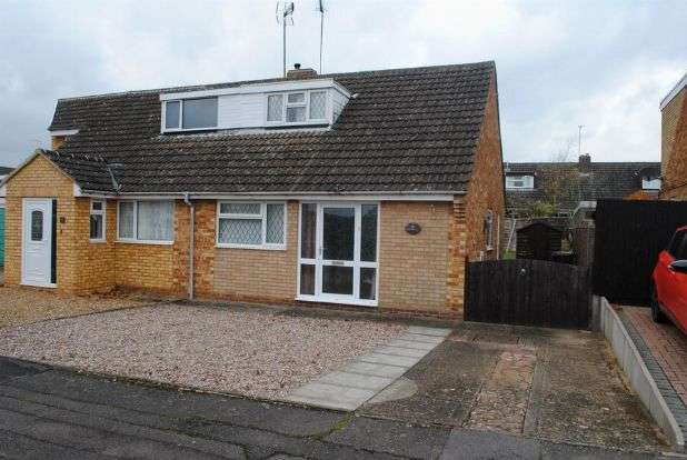 2 Bedrooms Semi Detached House for sale in Hedgerow Drive, Kingsthorpe, Northampton NN2 8BY