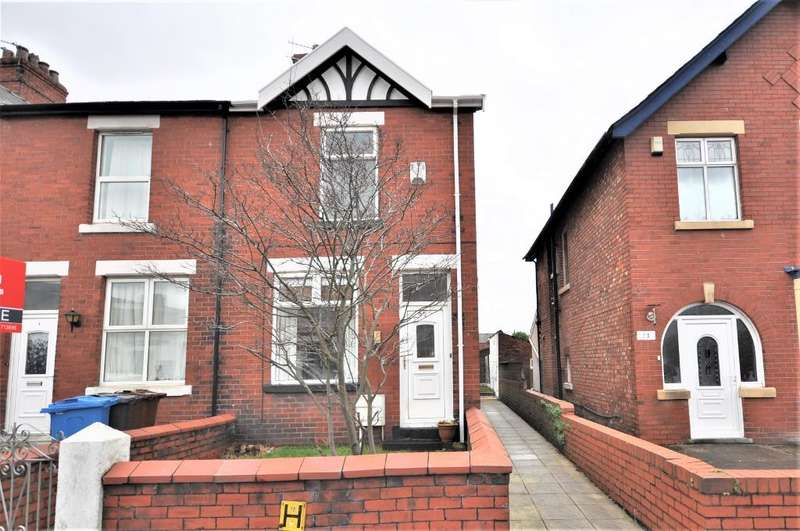 2 Bedrooms End Of Terrace House for sale in Kirkdale Avenue, St Anne's, Lytham St Anne's, Lancashire, FY8 1XE
