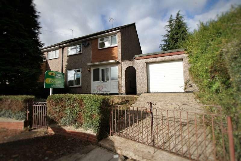3 Bedrooms Semi Detached House for sale in Darent Close, Bettws, Newport