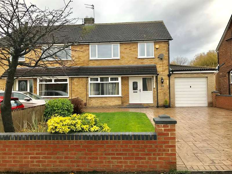 3 Bedrooms Semi Detached House for sale in Fairville Road, Stockton-on-Tees, TS19 7NF