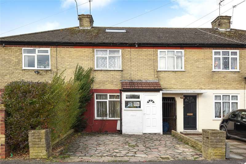 3 Bedrooms Terraced House for sale in Wigton Gardens, Stanmore, Middlesex, HA7