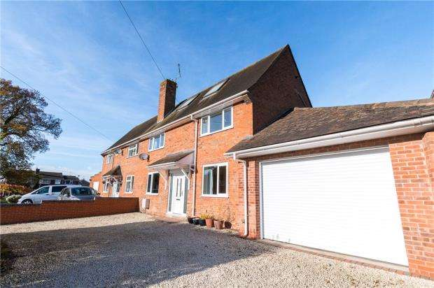 3 Bedrooms Semi Detached House for sale in St. Nicholas Road, Radford Semele, Leamington Spa