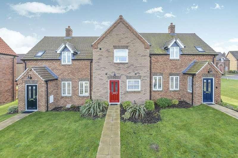 2 Bedrooms Terraced House for sale in Moor Road, Hunmanby Gap, Filey, YO14
