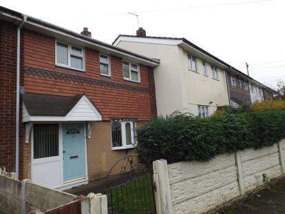 3 Bedrooms Terraced House for sale in Hadley Way, Walsall, West Midlands