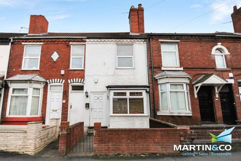 2 Bedrooms Terraced House for sale in Nimmings Road, Halesowen, B62