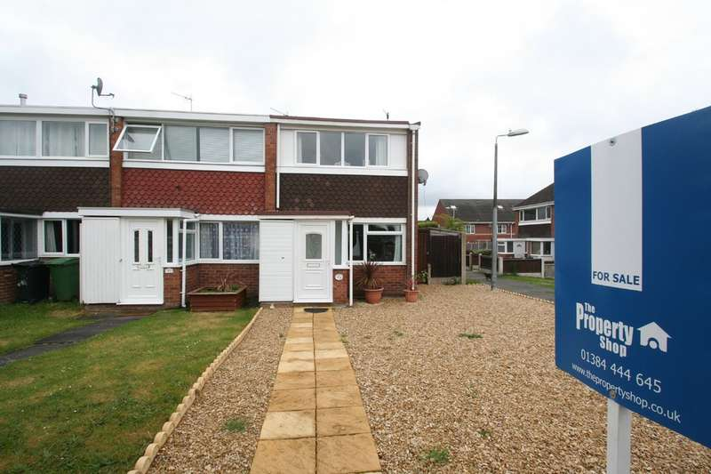2 Bedrooms End Of Terrace House for sale in Grosvenor Way, Quarry Bank