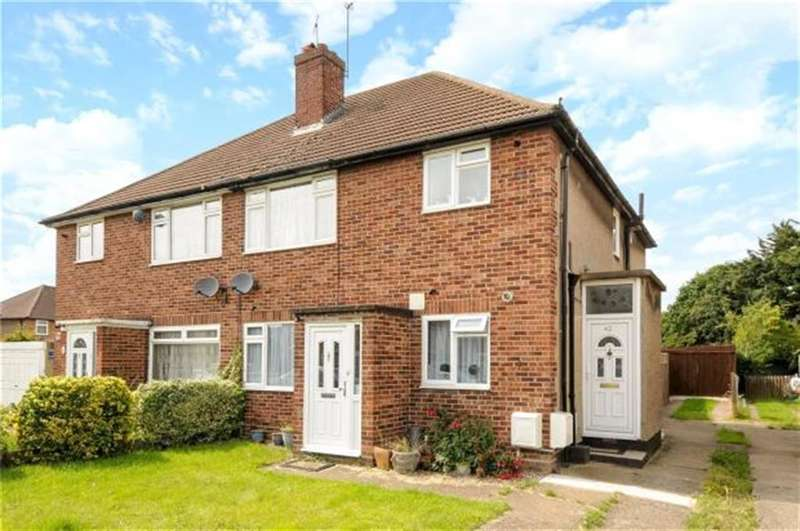 2 Bedrooms Ground Maisonette Flat for sale in Daleham Drive, Uxbridge, Middlesex, UB8 3HW