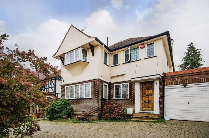 3 Bedrooms Detached House for sale in The Crossways, Wembley Park, HA9